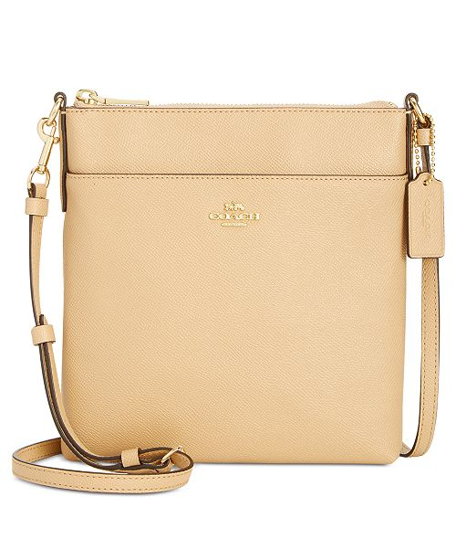 f846f3e83e26 COACH Courier Crossbody in Crossgrain Leather   Reviews - Handbags ...