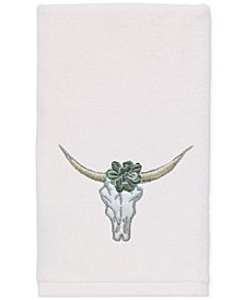 Avanti Canyon Cotton Embroidered Fingertip Towel