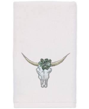 Avanti Canyon Cotton Embroidered Fingertip Towel Bedding