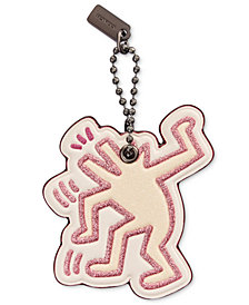 COACH Keith Haring Dancing Dog Hangtag
