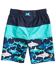 Laguna Underwater Camo Colorblocked Swim Trunks, Toddler Boys