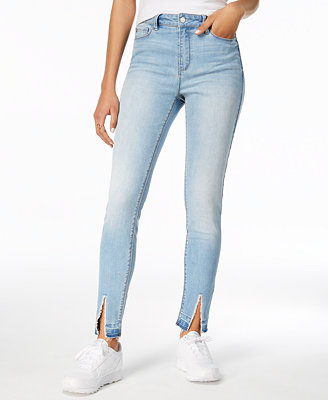 Juniors' Selina High Rise Skinny Jeans by Black Daisy