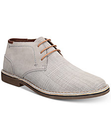 Kenneth Cole Reaction Men's Desert Sun Textured Suede Chukka Boots