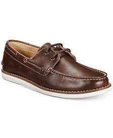 케네스콜 샌튼 보트 슈즈 - 블랙, 브라운 Unlisted by Kenneth Cole Mens Santon Boat Shoes