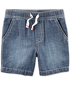Carter's Chambray Cotton Shorts, Little Boys