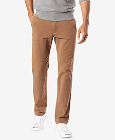 Dockers Men's Stretch  Slim Tapered Fit Downtime  Smart 360 FLEX Khaki Pants