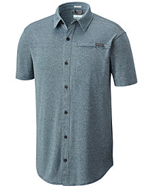 Columbia Men's Battle Ridge Classic-Fit Knit Shirt