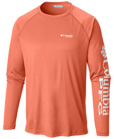 Columbia Men's PFG Omni-Wick Terminal Tackle T-Shirt