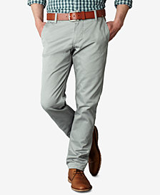 Dockers Men's Big & Tall Stretch Slim Tapered Fit Alpha Twill Pants