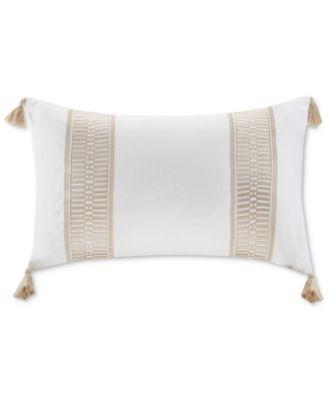 Harbor House Cannon Beach Decorative Pillow White