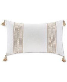 """Harbor House Anslee 12"""" x 20"""" Embroidered Oblong Decorative Pillow"""