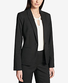 Tommy Hilfiger Pin-Dot Printed Blazer