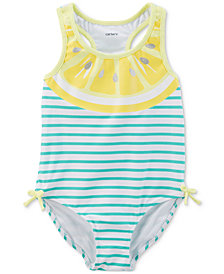 Carter's Lemon-Print Swimsuit, Baby Girls