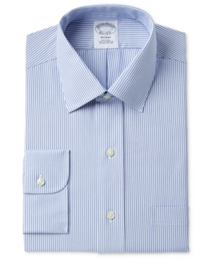 Brooks brothers men 39 s milano extra slim fit non iron tonal for Brooks brothers non iron shirt review