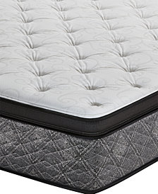"MacyBed by Serta  Resort 13"" Plush Euro Pillow Top Mattress - Twin XL, Created for Macy's"