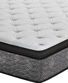 "MacyBed by Serta  Resort 13"" Plush Euro Pillow Top Mattress - Full, Created for Macy's"