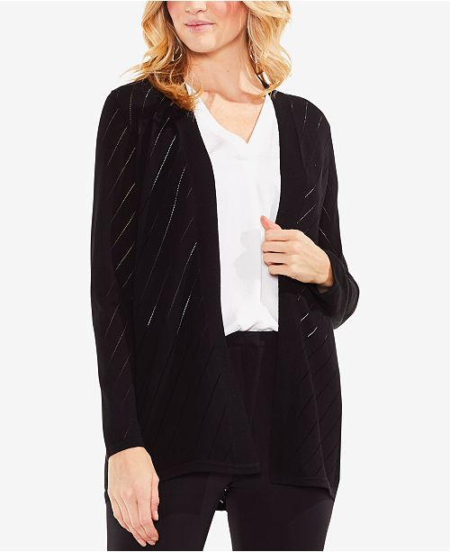 Vince Camuto Pointelle Cardigan