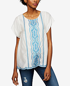 Ella Moss Maternity Embroidered Top