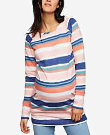 A Pea In The Pod Maternity French Terry Top