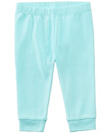 First Impressions Cotton Jogger Pants, Baby Boys or Baby Girls, Created for Macy's