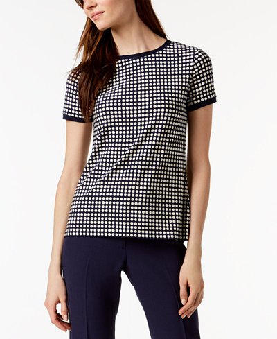Anne Klein Button-Back Blouse