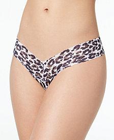 Hanky Panky Copycat Low-Rise Leopard-Print Thong 6G1582