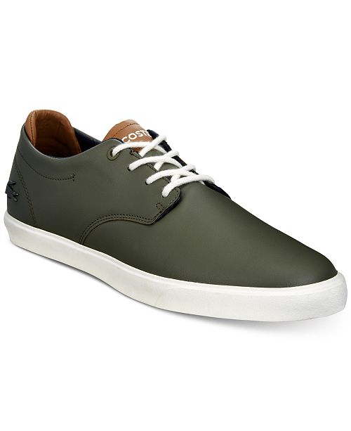 d7f1a1f0f Lacoste Men s Esparre 118 1 Boating Inspired Sneakers   Reviews ...