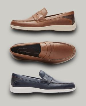 Rockport Men's Aiden Penny Loafers Men's Shoes 5255105