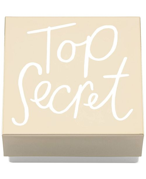 kate spade new york CLOSEOUT! All That Glistens Top Secret Covered Box