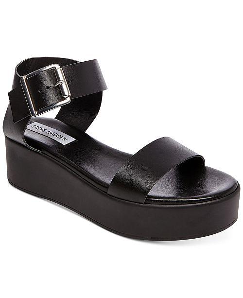 c4013e04af9 Steve Madden Women's Recover Flatform Sandals & Reviews - Sandals ...