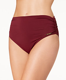 Vince Camuto Convertible High-Waist Bikini Bottoms