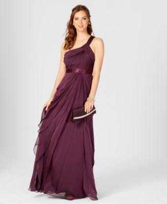 Purple Knee Length Sweetheart Dress with Cut Flower