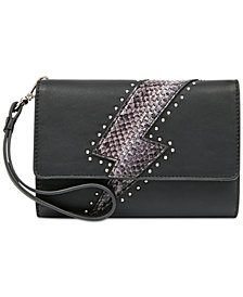 Nine West Embellished Tech Wristlet