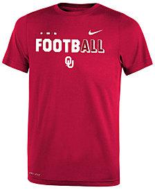 Nike Oklahoma Sooners Legend Football T-Shirt, Big Boys (8-20)