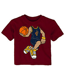 Outerstuff LeBron James Cleveland Cavaliers Dunkin T-Shirt, Infant Boys (12-24 Months)