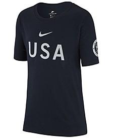 Olympics USA T-Shirt, Big Boys (8-20)