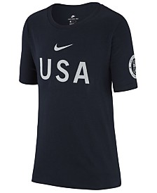 Nike Olympics USA T-Shirt, Big Boys (8-20)