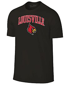 Retro Brand Men's Louisville Cardinals Midsize T-Shirt