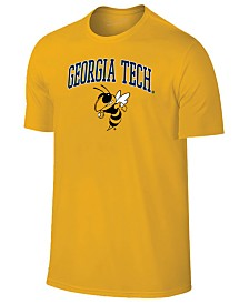 Retro Brand Men's Georgia-Tech Midsize T-Shirt