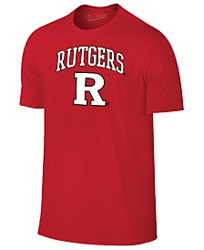 Retro Brand Men's Rutgers Scarlet Knights Midsize T-Shirt