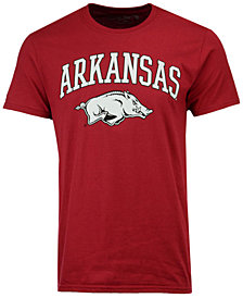 Retro Brand Men's Arkansas Razorbacks Midsize T-Shirt