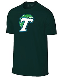New Agenda Men's Tulane Green Wave Big Logo T-Shirt