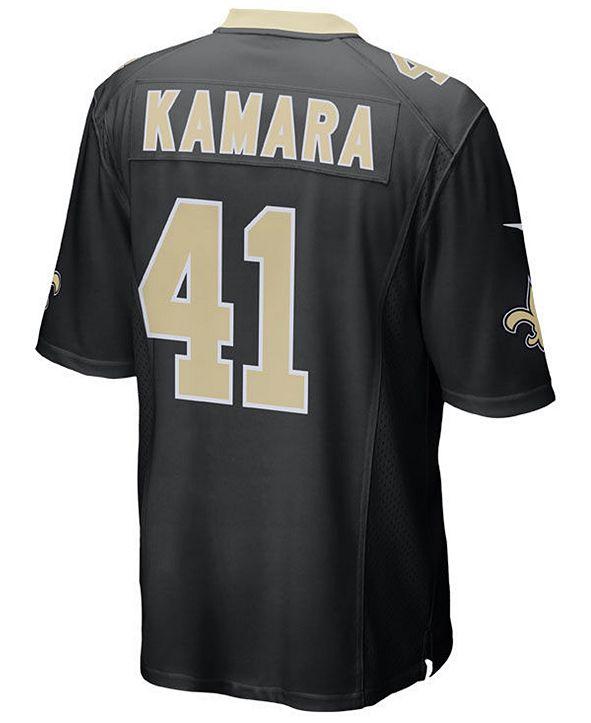 Nike Men's Alvin Kamara New Orleans Saints Game Jersey