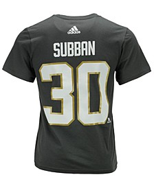 Men's Malcolm Subban Vegas Golden Knights Silver Player T-Shirt