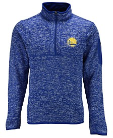 Antigua Men's Golden State Warriors Fortune Half-Zip Pullover