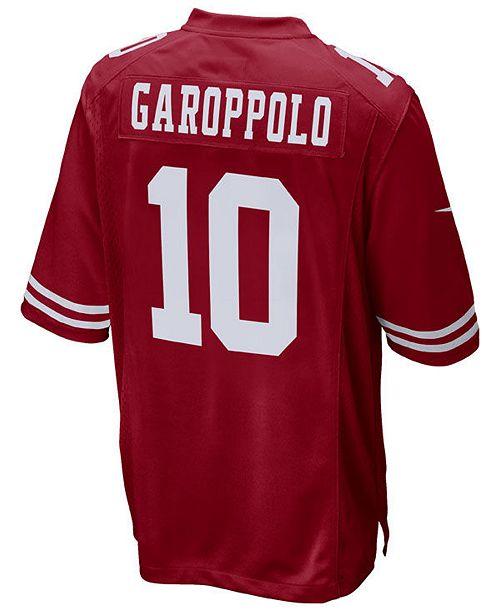 buy online e5afc b9997 Jimmy Garoppolo San Francisco 49ers Game Jersey, Big Boys (8-20)