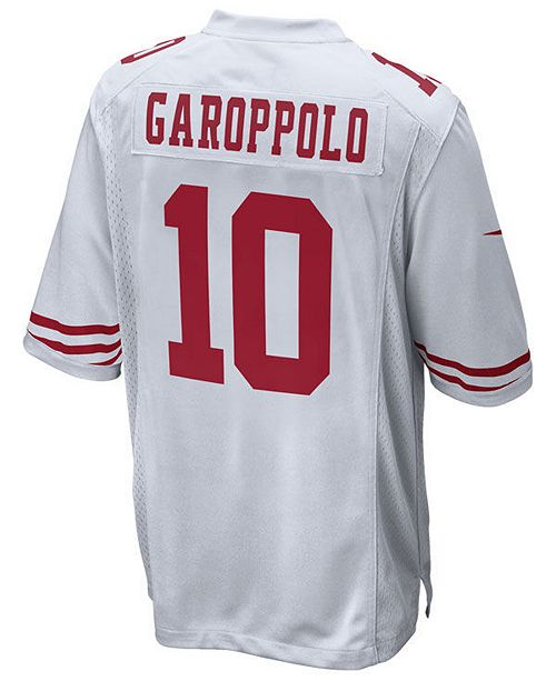 release date: 35699 5a2c6 Men's Jimmy Garoppolo San Francisco 49ers Game Jersey
