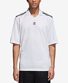 adidas Men's Originals Adicolor Jacquard Soccer Shirt