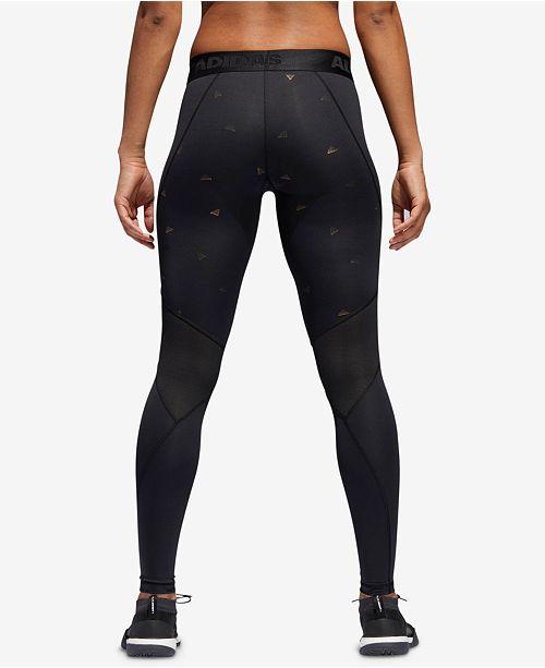 adidas Logo Print Leggings compresión de Capris compresión Pantalones Print y Capris Mujeres Macy s b4db1a0 - accademiadellescienzedellumbria.xyz
