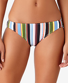 STUDIO Anne Cole Comic Stripe Bikini Bottoms